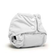 Rumparooz Lil Joey Newborn Cover with Snaps - White