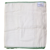 Dandelion Nappies Organic Cotton Blend Prefolds 3 Pack