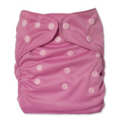 WolbyBug One Size Nappy Cover - Pink