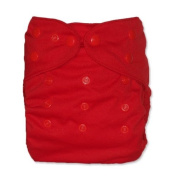 WolbyBug One Size Nappy Cover - Red