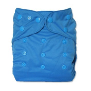 WolbyBug One Size Nappy Cover - Blue