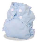 AppleCheeks - Envelope Cloth Nappy Cover, Size 1 (3.2-9.1kg) - Forget Me Not