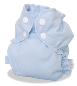 AppleCheeks Envelope Cloth Nappy Cover, Forget-Me-Not, Size 2