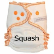 Sustainablebabyish Organic Bamboo Fleece Fitted Cloth Nappy