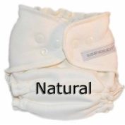 Sustainablebabyish Organic Bamboo Fleece Fitted Cloth Nappy