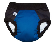 Super Undies Bedwetting Nighttime Underwear Bat Boy (Dark Blue) Size 1 (Medium) 2-3 yr old
