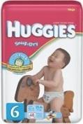 Huggies Snug & Dry Nappy, Size 6, Mega Package