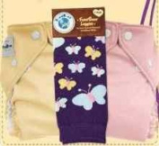 FuzziBunz One Size Nappy 2 Pack with Matching Leggings