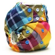 Rumparooz One Size Snap Cloth Pocket Nappy, Preppy Plaid