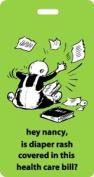 Hey Nancy Nappy Bag- Luggage Tag