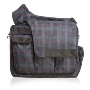 Nappy Dude Plaid Messenger II Bag