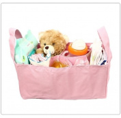 Baby Bottle Nappy Bag Organiser / Divider - Pink