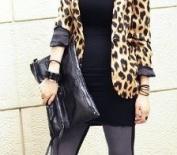MDR Store@ Gorgeous Women's Faux Leather Envelope Clutch Bag Lady PU Purse Carry Bag Handbag