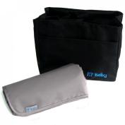 KF Baby Nappy Bag Insert Organiser - 9.6 x 14cm x 18cm , Black