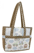 Stephan Baby Going Places Piece-Quilted Carry-All Baby Gear Tote