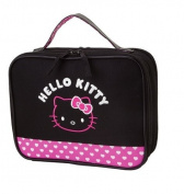 NEW SANRIO HELLO KITTY BABY nappy PURSE BAG POUGH black