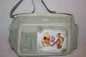 Disney Winnie the Pooh Postcard Large Nappy Bag