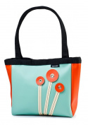 Holly Aiken Poppy Coupe Small Tote