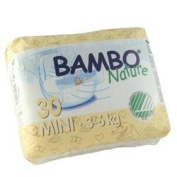 Bambo Nature Baby Nappies Pack, Size 2