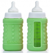 Coddlelife Silicone Bottle Wrap with Ultra Cushioning