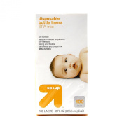 Disposable Bottle Liners-8oz--Pre-Sterilised & BPA Free--100 Count