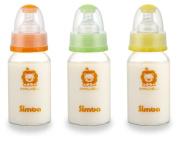 Simba BPA Free Diamond Light Glass Natural Flow Standard Neck Feeding Bottle