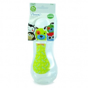 New Pureen Skittle Baby Feeding Bottle BPA Free 240ml with nipple size M for 3 months+