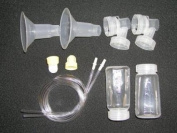 Medela Replacement Parts Kit Pump In Style Original Advanced with Extra Large XL 30 mm Breast Shield and Tubing #8007212 with Bonus Breast Care Kit from Mom and Baby Shop