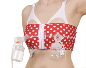 PumpEase Fabulous 50's Collection hands-free pumping bra