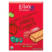 Ella's Kitchen Apples + Strawberries Nibbly Fingers -- 130ml