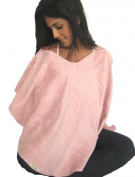 L'oved Baby Nursing Shawl Think Pink