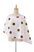 Hotslings NC-101 Little House Nursing Cover- Neopolitan Pink