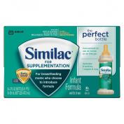 Similac Supplementation Ready to Feed Infant Formula - 2oz