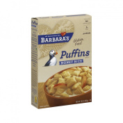 Barbara's Bakery Puffins Cereal, Honey Rice, 300ml Boxes