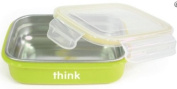 Thinkbaby Stainless Steel Bento Box - Green