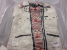 Maison Scotch Women's Ikat And Leather Mix Jacket