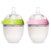 Comotomo Natural Feel Baby Bottle, 4 Pack