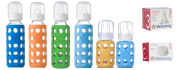Lifefactory Glass Baby Bottles 6 Pack Combo
