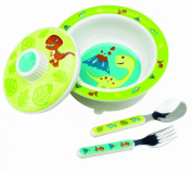 Sugarbooger Prehistoric Pals Suction Bowl Set