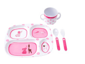 J.I.P. Junior Melamine Tableware Gift Set