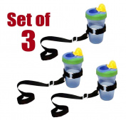 Set of 3 SippiGrip - Universal Sippi Grip, That is compatible with all Type of Baby Bottle, Cup & Baby Toys