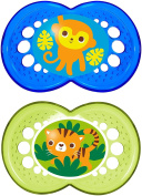 MAM Crystal Print Silicone Pacifier -