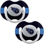 Tennessee Titans Pacifiers 2 Pack Safe BPA Free