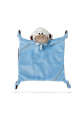 Friendly Pacifier Flatsie Blanket with Detachable Pacifier