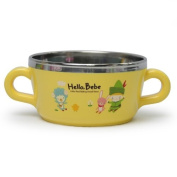 Lock & Lock Hello Bebe Storytelling Educational Design Baby Feeding Stainless Soup Mug with Double Handles