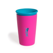 Wow Cup for Kids - NEW Innovative 360 Spill Free Drinking Cup - BPA Free - 270ml