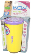 Wow Cup for Kids - New Innovative 360 Spill Free Drinking Cup - BPA Free - 240ml
