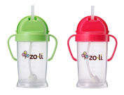 Zoli Baby Bot XL Straw Sippy Cup 270ml - 2 Pack