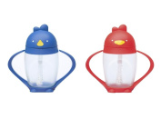Lollacup Infant And Toddler Straw Cup, 2 Pack