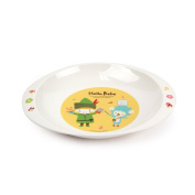 Lock & Lock Hello Bebe Baby Feeding Oval Plate with Handle, Small